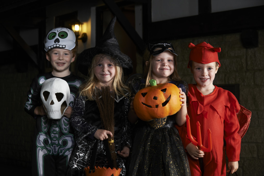 Even if you don't have a home security system, there are still other Halloween security tips you can put into action to keep your home and family safe