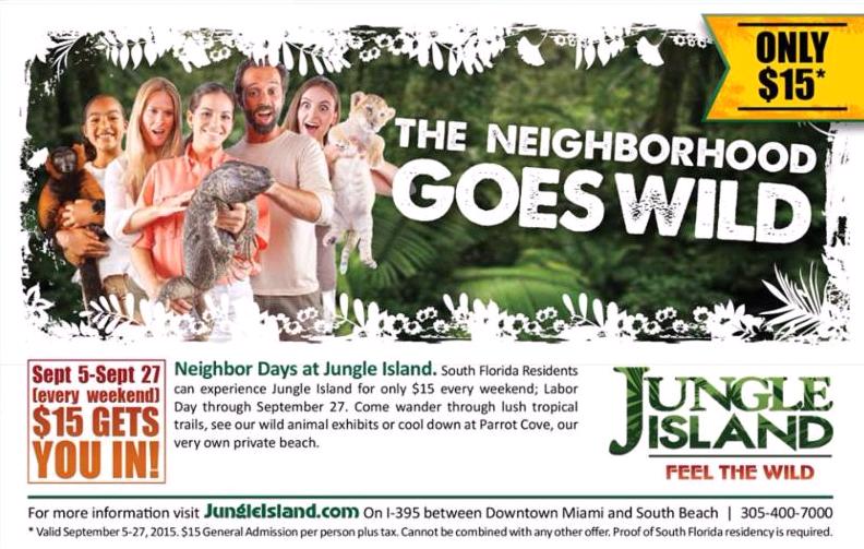 coupon jungle island