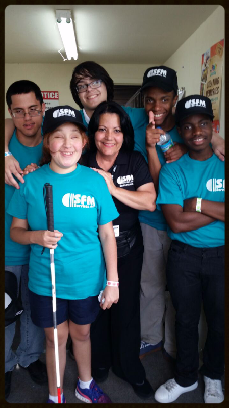 SFM Interns from Miami Lighthouse for the Blind
