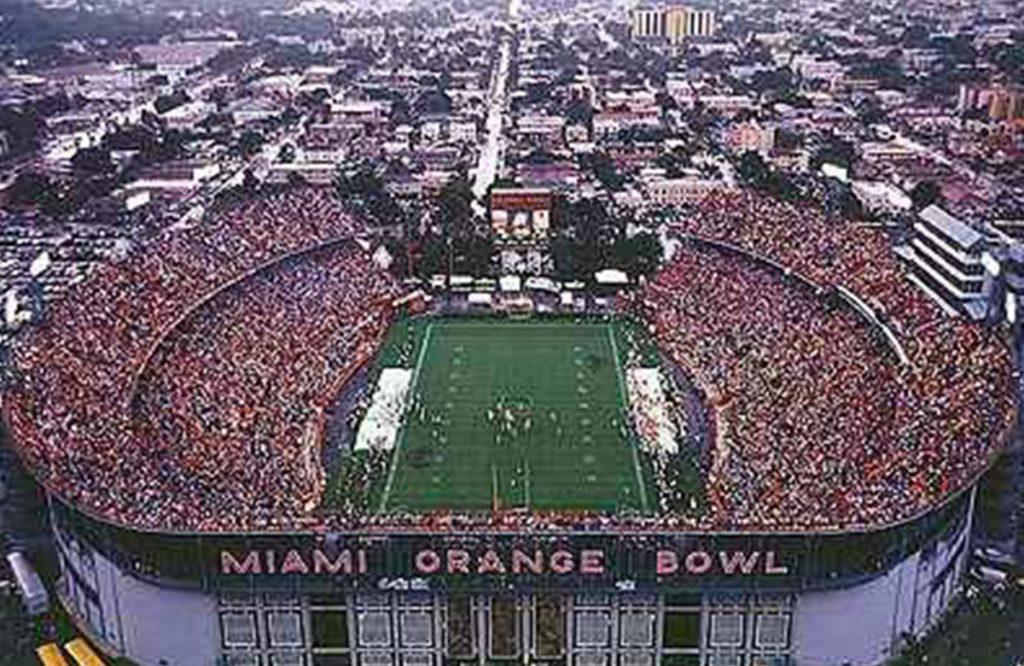 SFM Awarded Contract for the Miami Orange Bowl Stadium